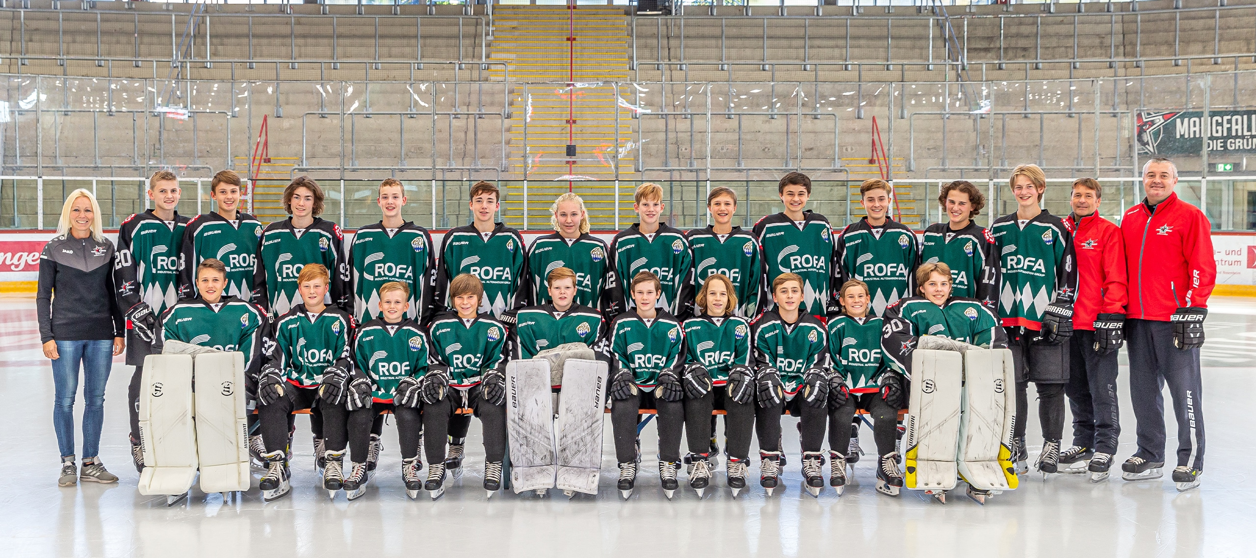 U15 Mannschaftsfoto - U15 Schüler